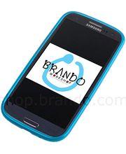Pouzdro měkké plastové Brando - Samsung Galaxy S III i9300 (modrá)