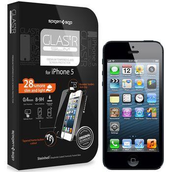 Spigen iPhone 5 GLAS.t ochrana displeje - prémiové temperované sklo