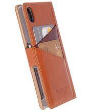 Krusell flipové pouzdro SIGTUNA pro Sony Xperia XZ, koňaková