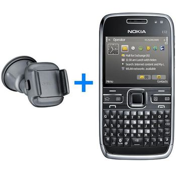 NOKIA E72 Zodium Black + Nabíjecí sada na kolo Nokia
