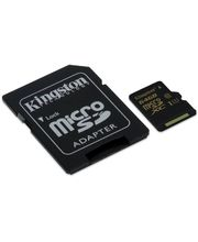 Kingston microSDXC 64GB Class 10/UHS-I, zápis 45MB/s + SD adaptér