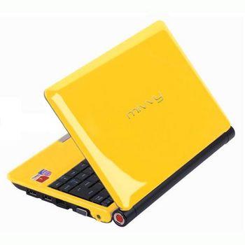 "mivvy L310 10"" Atom 1,6/WIFI/BT/160GB/2GB RAM/1,3Mpx/Linux (žlutá) + brašna"