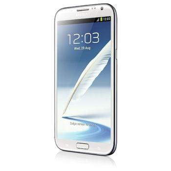 Samsung Galaxy Note II bílý + originální pouzdro černé ZDARMA