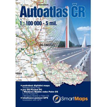 SmartMaps Locator: Autoatlas ČR 1:100.000 (Windows Mobile/Win CE/Symbian/Android)