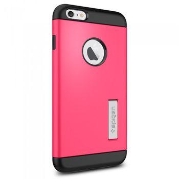 Spigen pevné pouzdro Slim Armor pro Apple iPhone 6 Plus, růžová