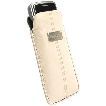 Krusell pouzdro Luna - M - Nokia C5/6303/N96/X3, SE X10 mini/Vivaz (Pro) 100x45x16mm (písková)