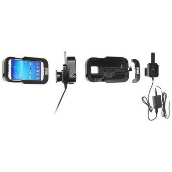 Brodit odolný držák do auta na Samsung Galaxy S4 bez pouzdra, se skrytým nabíjením
