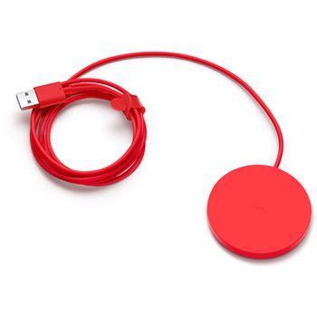 Nokia DT-601 bezdrátová nabíjecí podložka červená