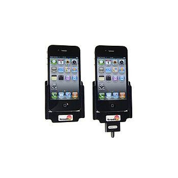 Brodit držák do auta na Apple iPhone 4/4S průchozí konektor - pouze rozbaleno - plná záruka