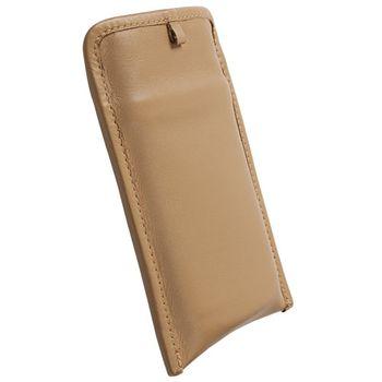 Krusell pouzdro Lund Pouch XXL - Sony Ericsson XPERIA Active/Mini/Mini Pro   125x65x10 mm  (béžová)
