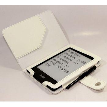 C-TECH PROTECT pouzdro pro Amazon Kindle PAPERWHITE/PAPERWHITE 2, WAKE/SLEEP funkce, bílé