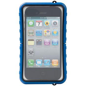 Krusell pouzdro vodotěsné SEaLABox - L -iPhone 4/3GS, Nok C5/C6-01/C7,Sam S5230,SE Xperia Neo(modrá)