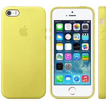 Apple originální kryt pro iPhone 5S, žlutá