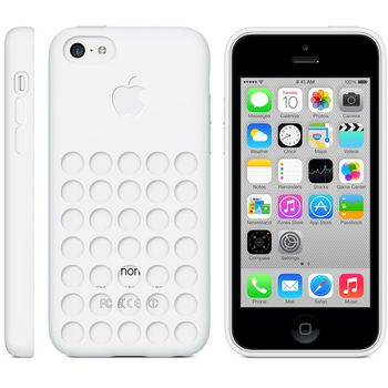Apple originální kryt pro iPhone 5C, bílá