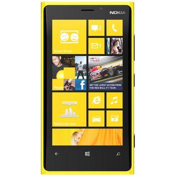 Nokia Lumia 920 žlutá + Brando ochranná fólie na displej