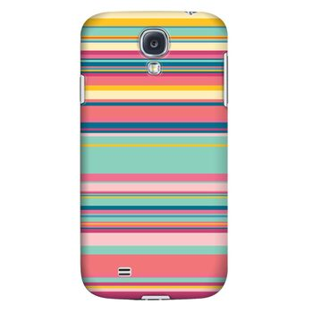 Krusell PrintCover pro Samsung Galaxy S4 - růžové pruhy