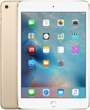 Apple iPad mini 4 Wi-Fi Cellular 128GB zlatý