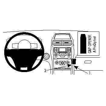 Brodit ProClip montážní konzole pro Ford Explorer 11-15, střed. tunel