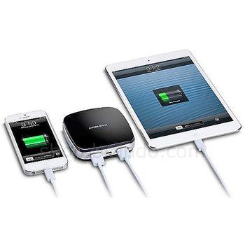 Brando externí baterie 6400mAh s dualním výstupem USB  (2.1A+1A)