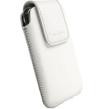 Krusell pouzdro Vinga M - iPhone 4/3GS, HTC Desire C/HD Mini/Wildfire 112x57x13mm (bílá)