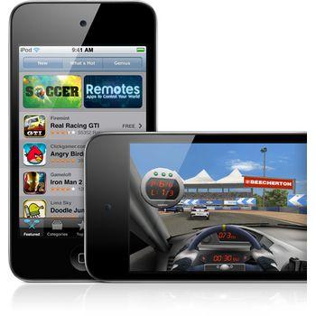 Apple iPod touch 64GB 4.gen + reproduktor přenosný Soundtraveller K3000ST