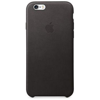 Apple kožené pouzdro pro iPhone 6s, černé