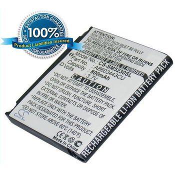 Baterie pro Samsung S5230 Star, Li-ion 3,7V 800mAh