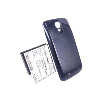 Baterie pro Samsung Galaxy S4 (i9505), rozšířená včetně modrého krytu, 5200mAh, Li-ion + univerzální nabíječka baterií