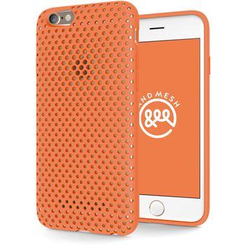 AndMesh ochranný kryt pro Apple iPhone 6/6s, oranžový