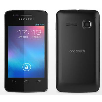 ALCATEL ONETOUCH 4030D S´POP Dual SIM černá