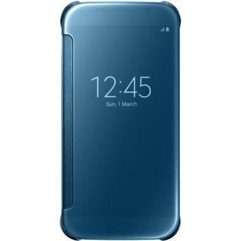 Samsung flipové pouzdro Clear View EF-ZG920BL pro Galaxy S6, modrá