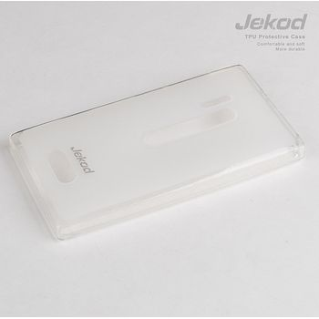 Jekod TPU silikonový kryt Nokia Lumia 620, bílá