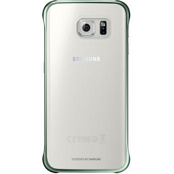 Samsung ochranný zadní kryt EF-QG925BG pro Galaxy S6 Edge, zelená