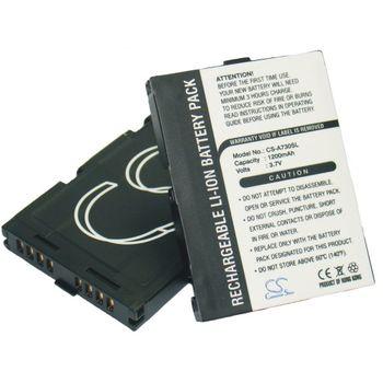 Baterie pro Asus MyPal A730, A730w, Li-ion 3,7V 1200mAh