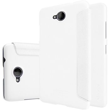 Nillkin flipové pouzdro Sparkle Folio pro Nokia Lumia 650, bílé