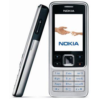 NOKIA 6300 Black Silver 512MB + pouzdro Krusell Classic