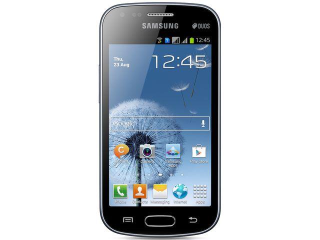 obsah balení Samsung Galaxy S DUOS S7562 + SanDisk značková paměťová karta 16GB