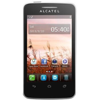 ALCATEL ONETOUCH 3040D Tribe Dual SIM bílá