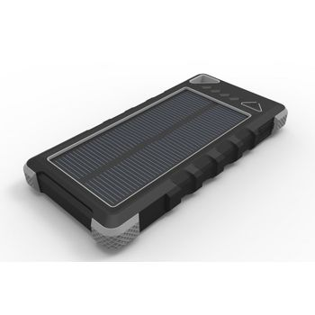 Wodasport OUTDOOR ADVENTURE Solární powerbanka 16000mAh, 2xUSB 1A a 2.4A