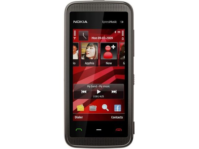 obsah balení NOKIA 5530 XpressMusic Black Red 2GB + pouzdro Krusell Classic