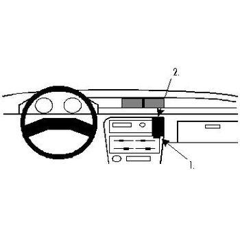 Brodit ProClip montážní konzole pro Suzuki Swift 89-91, na střed