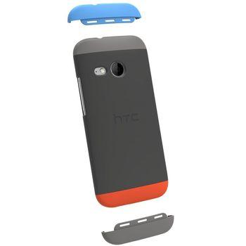 HTC zadní ochranný kryt HC C971 pro HTC One mini 2, šedý
