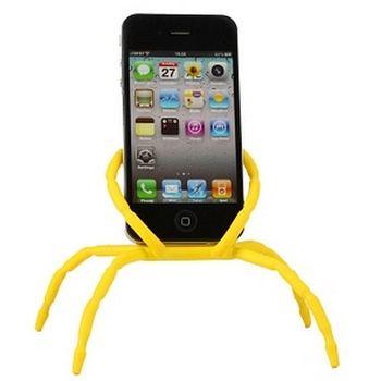 Spiderpodium - univerzální držák pro telefony (žlutá)