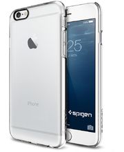 Spigen pouzdro Thin Fit pro iPhone 6, transparentní
