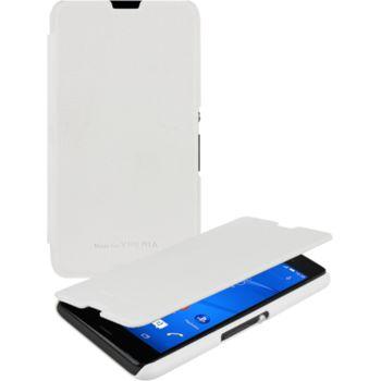Roxio flipové pouzdro pro Sony Xperia E4g, bílé