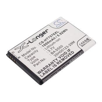 Baterie pro HTC 7 PRO 1500mAh, Li-ion