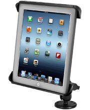 """RAM Mounts univerzální držák na 9"""" a 10"""" tablety do auta na palubní desku, skútr, atd. na šroubky nebo vruty, AMPS, plast, sestava RAM-B-138-TAB-LG"""