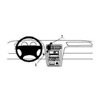 Brodit ProClip montážní konzole pro Mazda 626 98-04, na střed vlevo