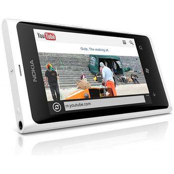Nokia Lumia 800 Gloss White + Prémiová fólie Krusell