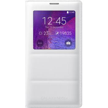 Samsung flipové pouzdro S-View EF-CN910BW pro Galaxy Note 4 (N910), bílé